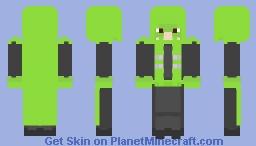 Pride Month - Pied Piper (DC) Minecraft Skin