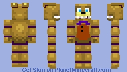 into the pit SpringBonnie 2 Minecraft Skin