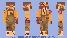 potato halloween Minecraft Skin