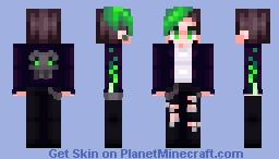 Green with Envy Minecraft Skin