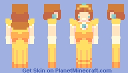 princess daisy Minecraft Skin
