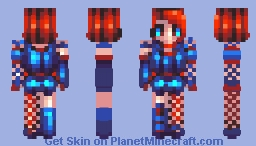 one day I will make it Minecraft Skin