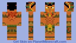 Aztec warrior Minecraft Skin