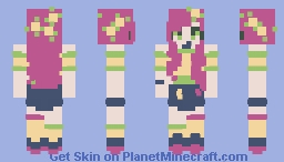 lemonade - collab with cactifern! Minecraft Skin