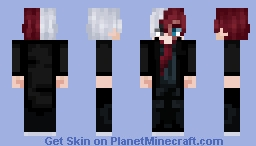 🚬Villain Shoto🚬 Minecraft Skin