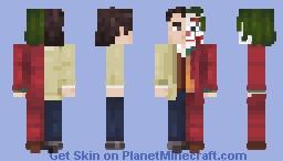 Arthur Fleck AKA Joker (Merge) Minecraft Skin