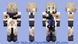 ~ Albedo ~ | Genshin Impact Minecraft Skin