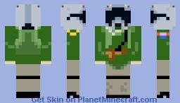 Fighter Pilot Minecraft Skin