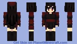 Raven Branwen // RWBY Minecraft Skin