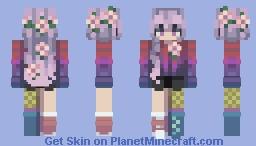 Spring Blossoms - CE Minecraft Skin