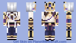 [Kari] F/GO - Prince of Lan Ling +Maskless Ver. in Desc. Minecraft Skin