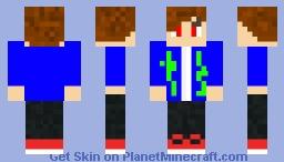 Liquid Poison Guy Minecraft Character (Max Jordan) Minecraft Skin