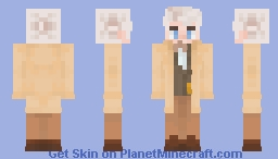 𝒌𝒍𝒐𝒘𝒏// aziraphale {good omens} Minecraft Skin