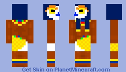 Horus - The God of the sky Minecraft Skin