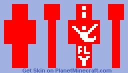 iFly Guy Minecraft Skin