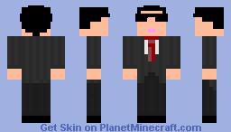 Gangnam style! Minecraft Skin