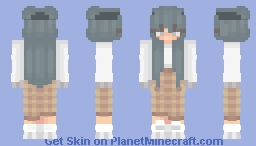 billie ellish Minecraft Skin