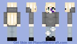 please... don't hurt me... (read disc) Minecraft Skin