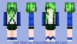 Forest Night Minecraft Skin
