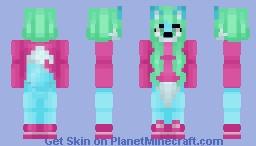 request || sleepy_vixen Minecraft Skin