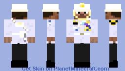 Thai King's Own Bodyguard Regiment (Steve Version) Minecraft Skin