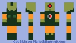 Thorn blade Minecraft Skin