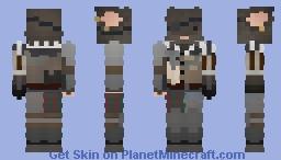Mouse Brigadier Minecraft Skin
