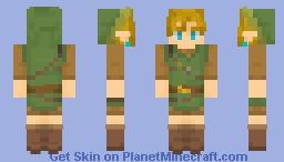 Link | Wild set Minecraft Skin