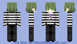 Beetlejuice (for contest) Minecraft Skin