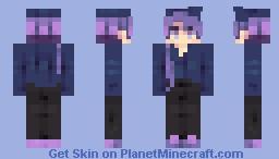 Purple Madness (reshade) Minecraft Skin