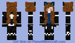 Samantha - The Popular girl Minecraft Skin