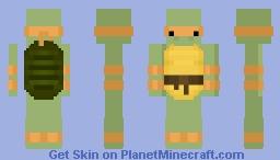 Michelangelo (Ninja Turtle) Minecraft Skin