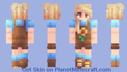 Summer Farmer Minecraft Skin