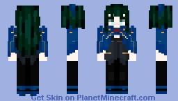 Tower Of God: Lo Po Bia Elaine (Kaiser) Minecraft Skin