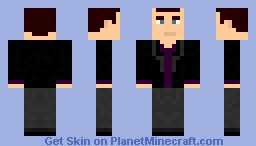 The 9th Doctor Minecraft Skin