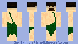 Jungle Stalin Minecraft Skin