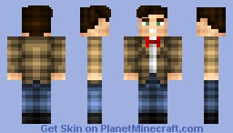 Eleventh Doctor Minecraft Skin