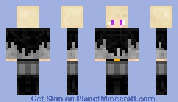 Ender Slayer [Boy] [w/ hood] Minecraft Skin