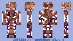 The Creepy Pasta skin series: Encrusted Fatty (with legend story) Minecraft Skin