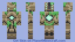 Ancient Golem Minecraft Skin