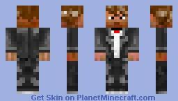 A Man In Suite Minecraft Skin