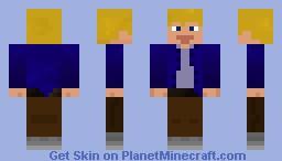 The 'b' Minecraft Skin
