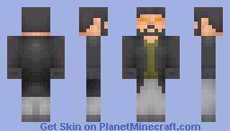 Adam Jensen [Deus Ex: Human Revolution] Minecraft Skin