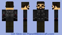 Deus Ex: Adam Jensen Minecraft Skin