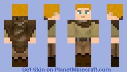 Blond Adventurer/Explorer RPG Skin Minecraft Skin