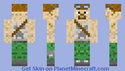 The Prevented Explorer Minecraft Skin