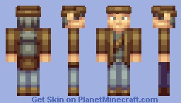 The Adventurer! Minecraft Skin