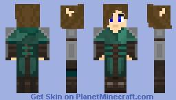 [LotC] Aelys Silverstar - Work Outfit Minecraft Skin