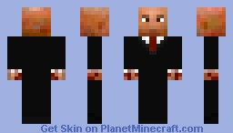 Agent 47 (Hitman) Minecraft Skin