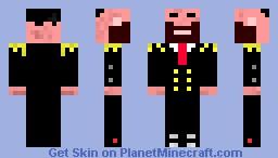 Agent 009 Minecraft Skin